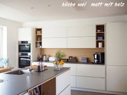 7 küche weiß matt mit holz küchen ideen modern küche holz
