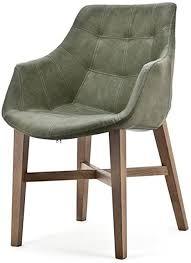 maison esto vintage stuhl neba grün armlehne polsterstuhl