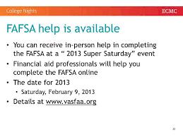 Fafsa Help Desk Number by Associate Director Of Admissions Radford University Ppt Download