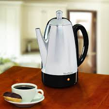 West Bend 54159 Classic Stainless Steel 12 Cup Percolator Silver