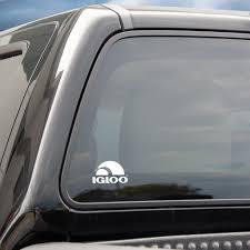 100 Truck Window Decal Igloo Coolers Igloo White