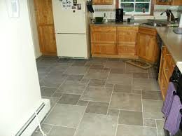Best Floor For Kitchen by White Ceramic Kitchen Floor Tile Dark Tile Floor White Cabinets