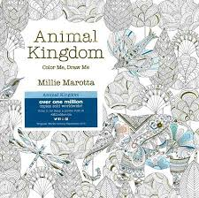 Animal Kingdom Color Me Draw Coloring Book