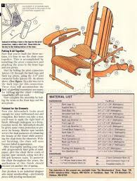 Folding Adirondack Chair Woodworking Plans folding adirondack chair plans u2022 woodarchivist