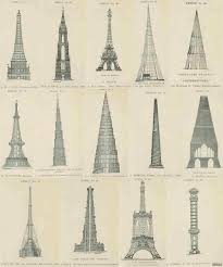 100 Vicarage Designs Weird History On Twitter Rejected Designs For The Eiffel Tower