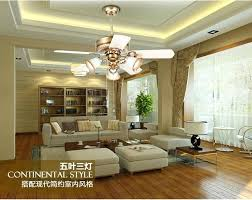 Dining Room Ceiling Fan Retro Light Minimalism Modern Bedroom Living Lights Led Formal Fans