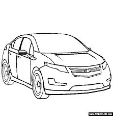 Chevrolet Volt Coloring Page
