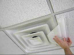airvisor air deflector for office ceiling vents 24 x 24