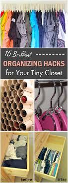 Best 25 Organizing Small Closets Ideas On Pinterest