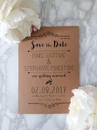 How We Created 100 Rustic Save The Dates For GBP7