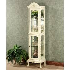Pulaski Oak Corner Curio Cabinet by Glass Curio Cabinet Exciting Furnished Silver Curio Cabinets Plus