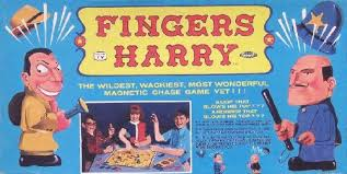 Topper Toys Fingers Harry Board Game