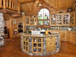 impressive log cabin kitchen ideas fancy interior home design