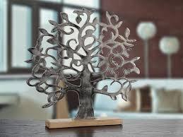 gilde lebensbaum dekofigur baum freistehend tischdeko