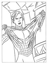 Spiderman Coloring Pages 15