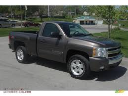 2007 Chevrolet Silverado 1500 LT Z71 Regular Cab 4x4 In Desert Brown ...