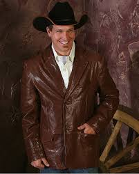 stetson men u0027s leather jacket fort brands
