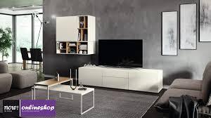 hülsta now vision wohnwand 990012 in 18 versch designs h152 4 x b317 1 x t52 cm