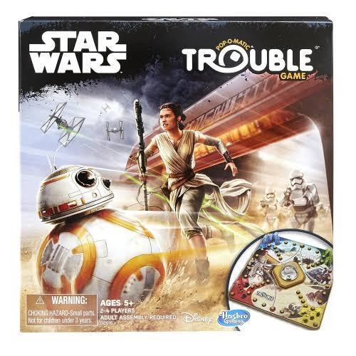 Hasbro Trouble Game: Star Wars Edition Board Game