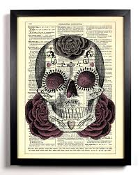Easy Sugar Skull Day Of by Sugar Skull Day Of The Dead Home Kitchen Nursery Office