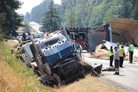 100 Truck Accident UPDATE Highway 1 Westbound In Langley Open Again After Truck Crash