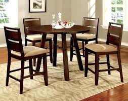 Formal Dining Room Sets Walmart by Dining Table Elegant Formal Round Counter Height Piece Dining