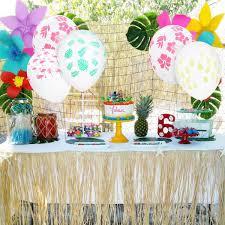 Hawaiian Theme Party Decorations Diy