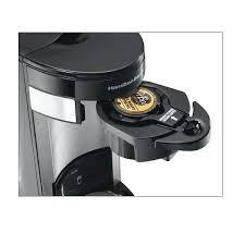 Hamilton Beach Coffee Maker Reviews Accessible Single Serve Coffeemaker A