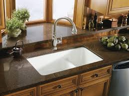 Kohler Riverby Undermount Kitchen Sink by Undermount Kitchen Sink Thinking About Renovating Your Kitchen If