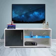 39 zoll hochglanz led tv steht schrank moderne tv einheit halterung mit schubladen wohnzimmer möbel abnehmbare hause eingerichtet