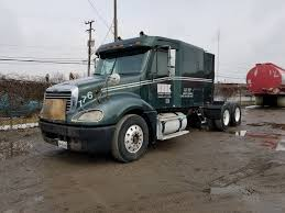 2003 FREIGHTLINER COLUMBIA CL120 T/A TRUCK TRACTOR, DOUBLE SLEEPER ...