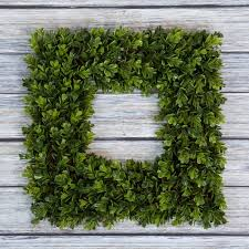 Boxwood Wreath Artificial Wreath for the Front Door by Pure