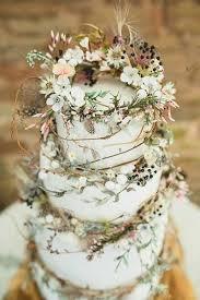 50 Fairy Tale Floral Arrangements Boho CakeFloral Wedding CakesRustic