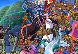 Famous Spanish Mural Artists by Cusco Mural By Juan Bravo Shows Amazing History Of Peru Places