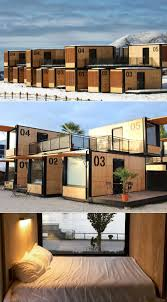100 Sea Container Accommodation Flying Nest Mobile Shipping Hotel In French Alps