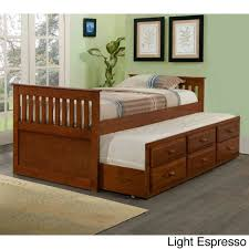 Donco Kids Mission Captains Trundle Twin Bed Free Shipping Today