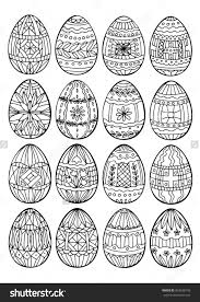 Easter Coloring Pages For Adults Page Eggs