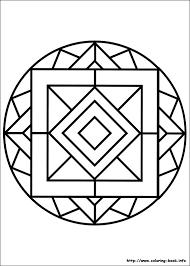 Pics Coloring Easy Mandala Pages On Mandalas Book
