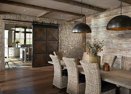 View In Gallery Give The Dining Room Barn Door An Inventive Twist From Conrad Brothers Of Idaho