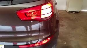 2014 kia sportage testing lights after changing bulbs