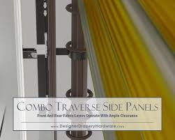 One Way Decorative Traverse Curtain Rods by Http Www Designerdraperyhardware Com Decorative Traverse Rods