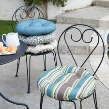 Papasan Chair Cushions Uk by Decorating Black Iron Chair Using Pretty Papasan Chair Cushion