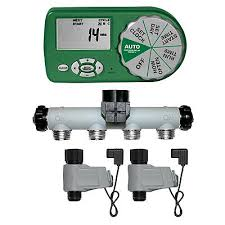 Orbit Hose Faucet Timer by Irrigation Automatic 4 Station Yard Watering Kit 91591