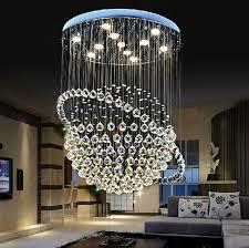 kristall kronleuchter wohnzimmer moderne einfache schlafzimmer le runde treppe kronleuchter le kreative esszimmer le esszimmer led