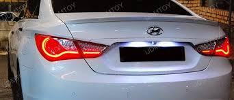 2011 2014 hyundai sonata oem replace led license plate light ls