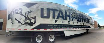Utah State Athletics Unveils New Football Equipment Tractor And ... Parts Service Wasatch Trailer Sales Layton Utah Dontcrdtheplow Snow Plow Crash In Spanish Fork Canyon Youtube Diesel Brothers Star Ordered To Stop Selling Building Smoke Weber County Fires Employee Caught On Video Berating Family At Young Hino Life Elevated Trucksim Lift Tech Automatic Truck Door Auto Opener Cstk Playbox Is Utahs Game And For Video Birthday Driver Dies As Pickup Truck Goes Off I15 Crashes Into Urch Fruehauf Cporation Wikipedia 56 Wheels About 220 From Back Of Trailer Front Found
