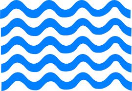blue wave clipart