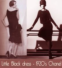 Little Black Dress LBD 1920s Chanel