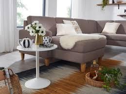wohnling design beistelltisch weiß holz optik rund ø 48cm kleiner couchtisch moderner wohnzimmertisch sofatisch