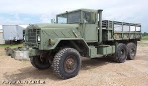 100 Ural Truck For Sale 1985 Am General Flatbed Truck Item BI9538 SOLD June 13